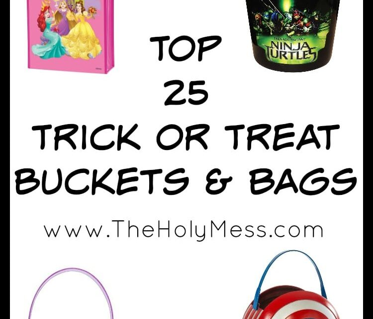 Top 25 Trick or Treat Buckets and Bags