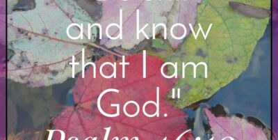 Be Still and Know|The Holy Mess