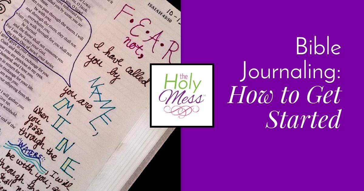 How To Bible Journal: A Beginner's Guide To Bible Journaling