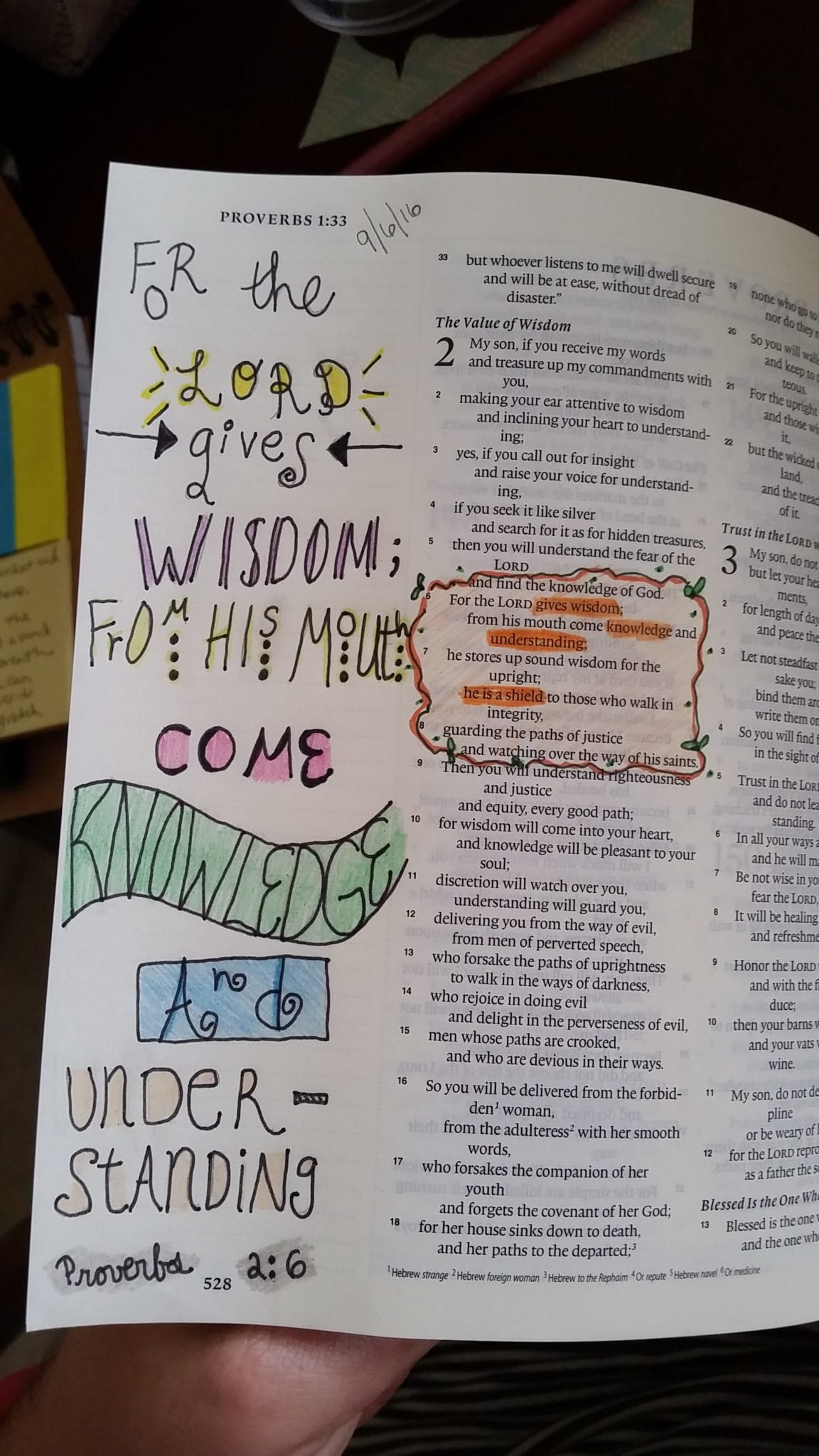 Emily Abraham - Bible Journaling