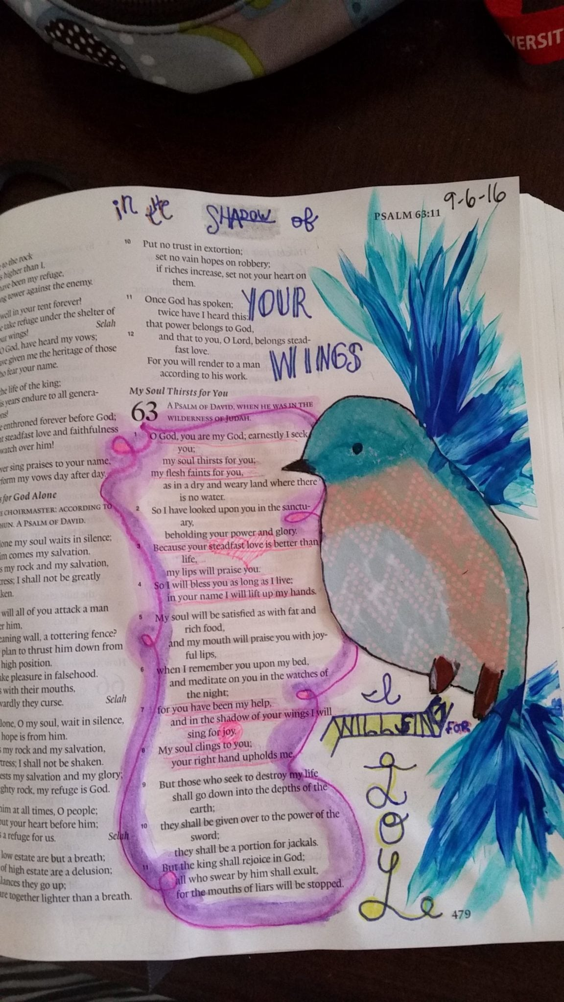 Emily Abraham - Bible Journaling