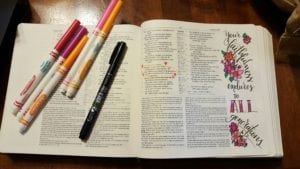 Jamie Truwe - Bible Journaling