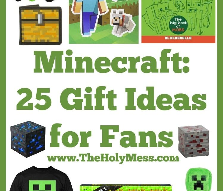 Minecraft: 25 Gift Ideas for Fans