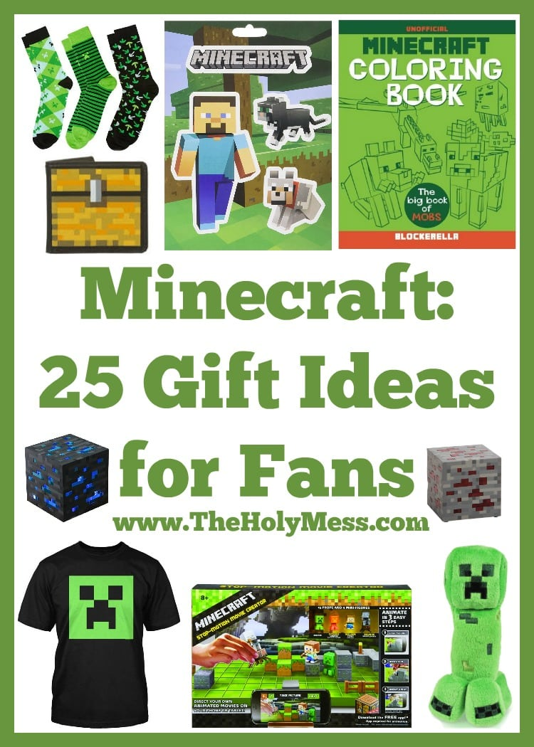 Minecraft: 25 Gift Ideas for Fans|The Holy Mess
