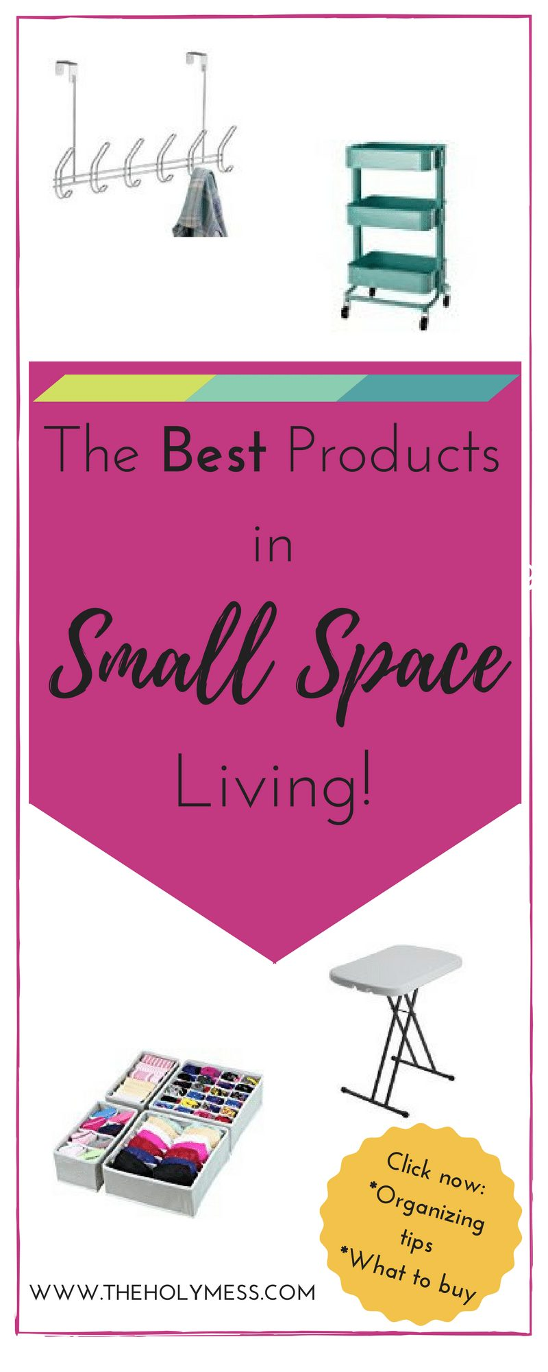 The Best Products for Small Space Living|The Holy Mess