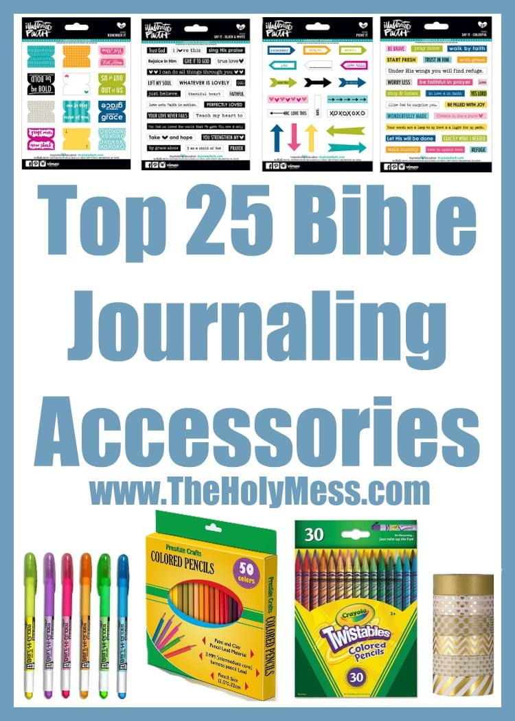 Top 25 Bible Journaling Accessories|The Holy Mess