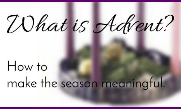 What is Advent? Advent wreath with candles