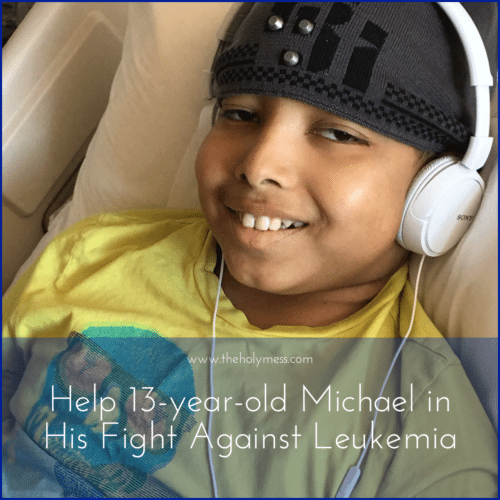 Please Help 13-Year-Old Michael in His Fight Against Leukemia