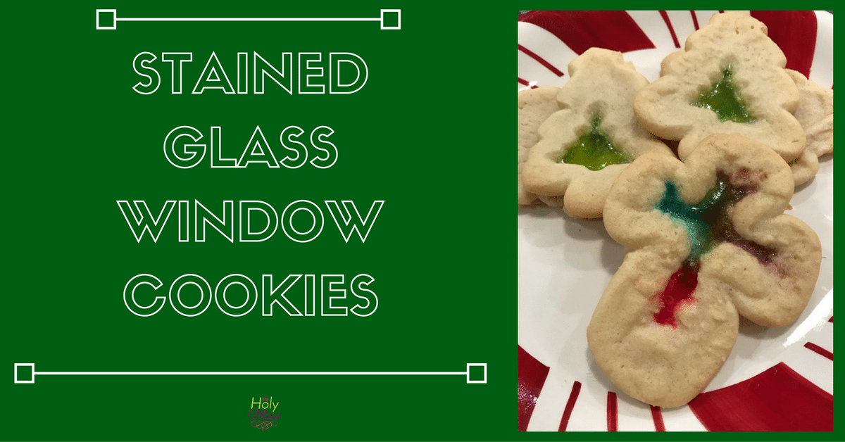 Stained Glass Window Cookies Recipe