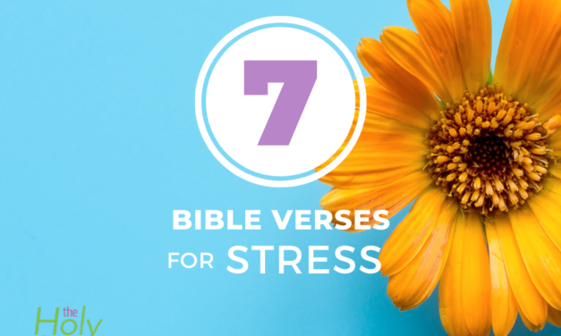 7 Bible Verses for Stress, Worry, and Anxiety