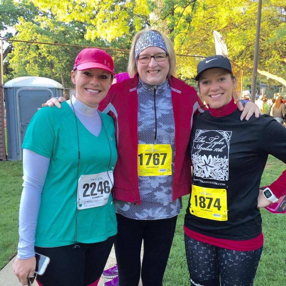 Cathy Hooper at a 10K|the Holy Mess