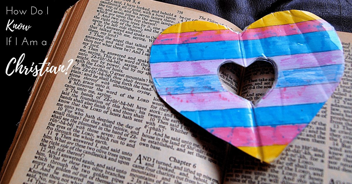 How Do I Know if I Am a Christian?|The Holy Mess