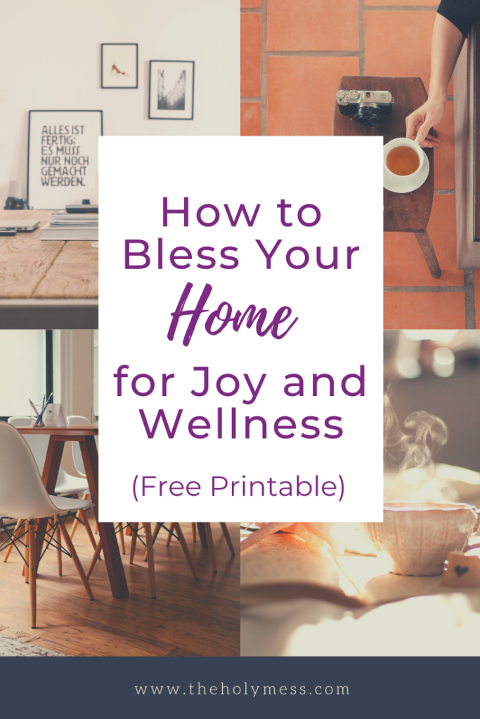 How to Bless Your Home, How to pray over your home