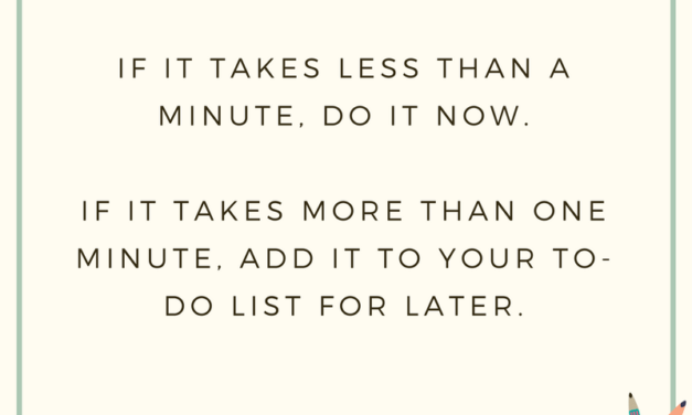 7 Tips to Stay Organized When You are Super Busy