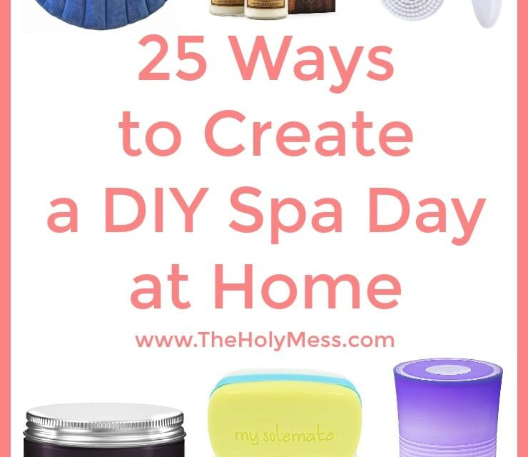 25 Ways to Create a DIY Spa Day at Home