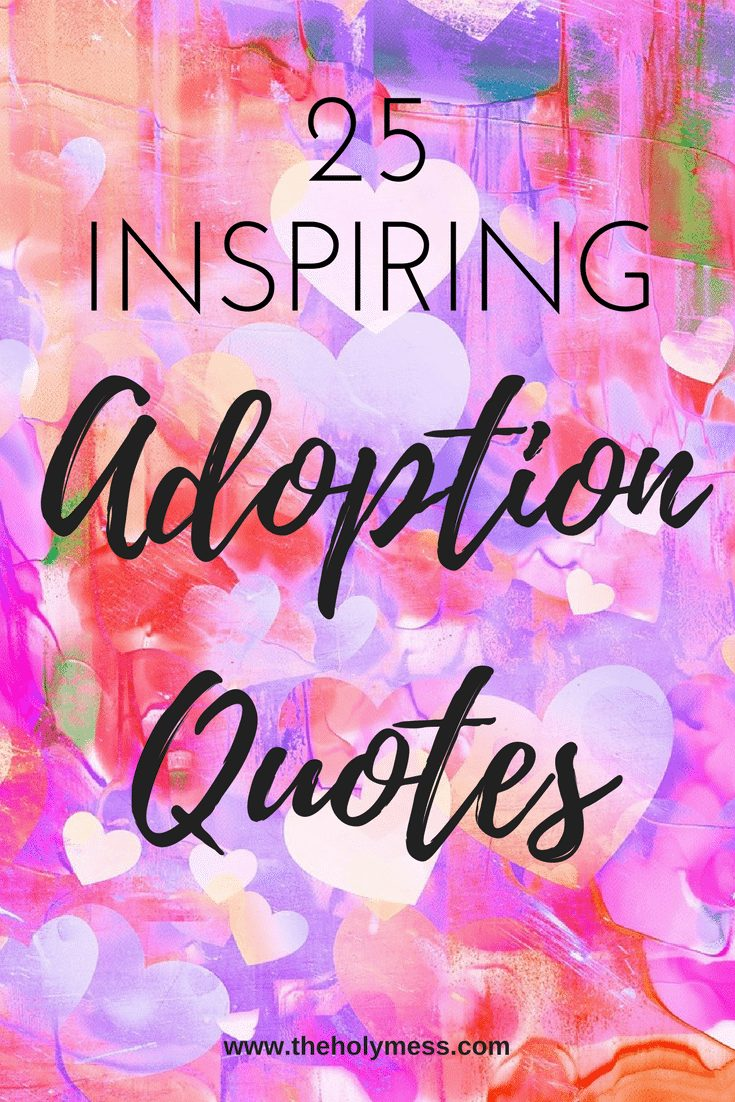 25 Inspiring Adoption Quotes|The Holy Mess