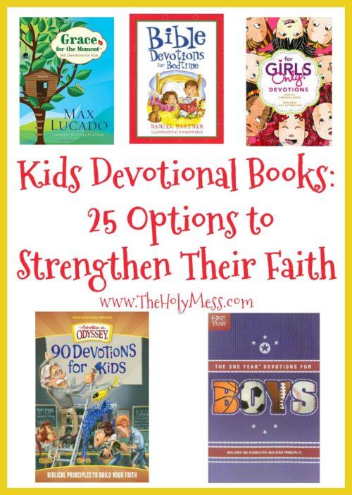 Kids' Devotion Books: 25 Options to Strengthen Their Faith