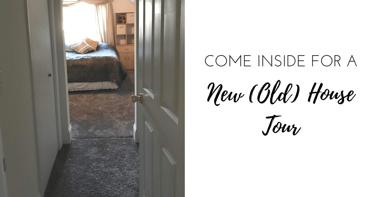 Come inside for a new (old) house tour|The Holy Mess