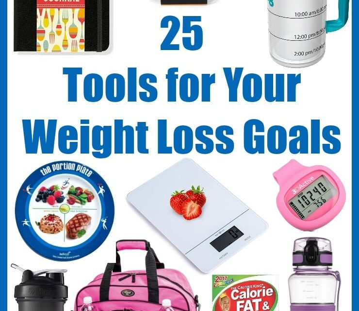 25 Helpful Tools for Your Weight Loss Goals