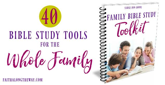 Family Bible Study Toolkit|The Holy Mess