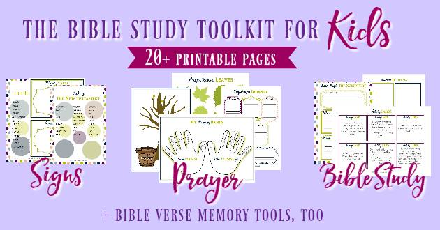 Kids Bible Study Toolkit|The Holy Mess