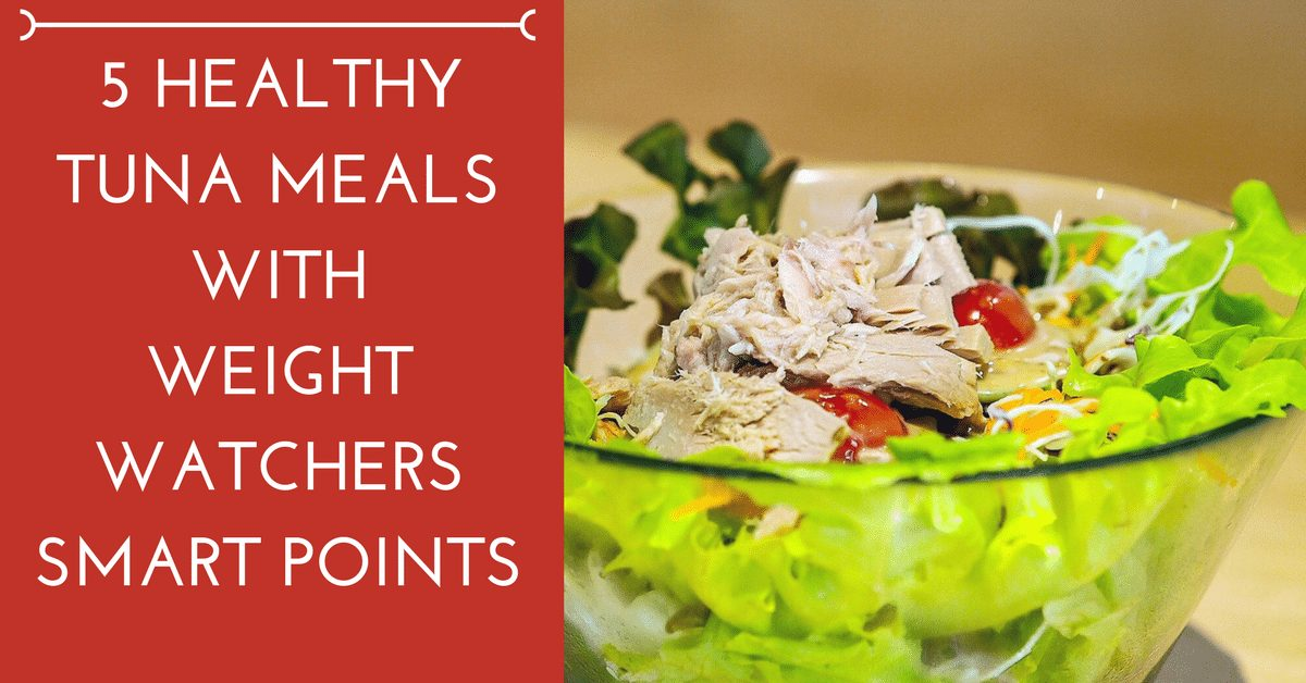 5 Healthy Tuna Meals with Weight Watchers Smartpoints|The Holy Mess