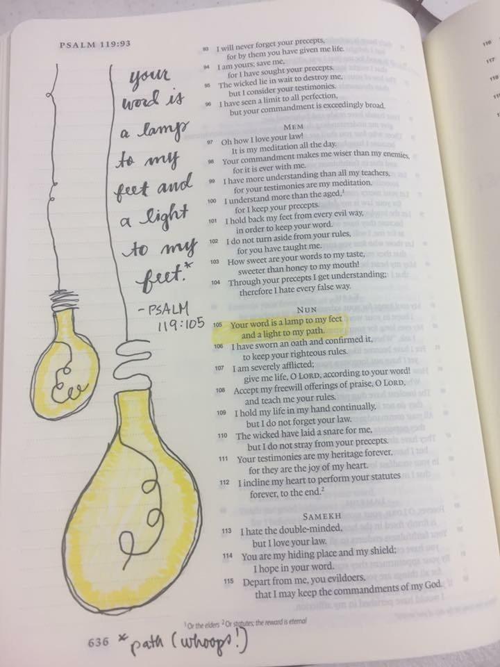 Susan Steege Bible Journaling The Holy Mess