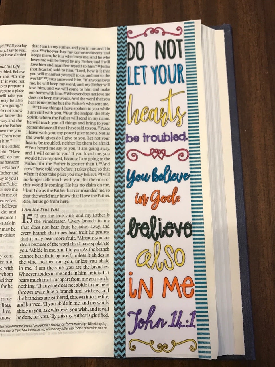 Bible Journaling|The Holy Mess