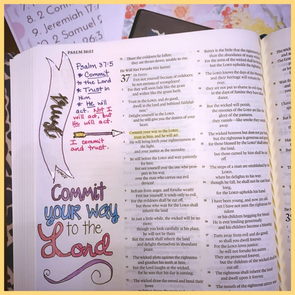 Bible Journaling Images The Holy Mess