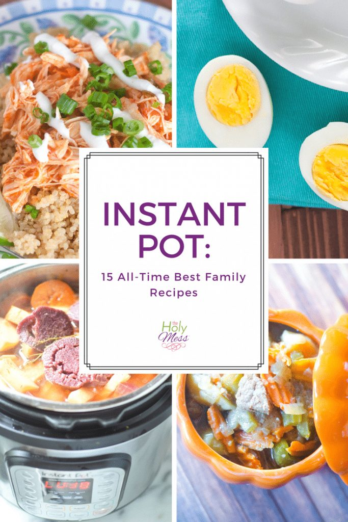 Instant Pot 15 All Time Best Recipes