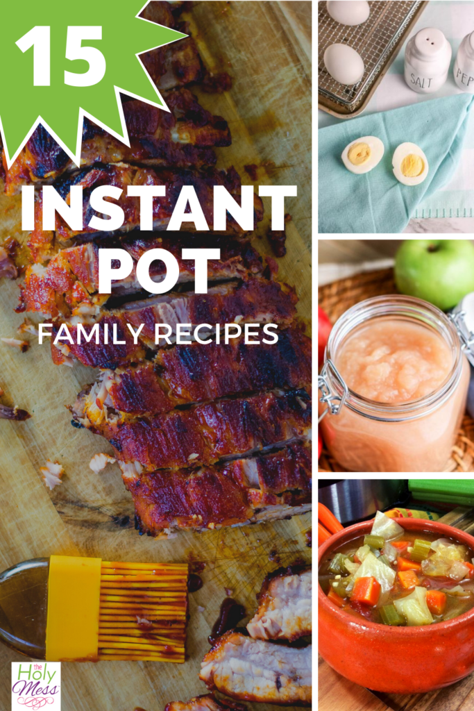instant pot family recipes