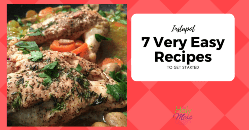 Instapot: 7 Very Easy Recipes to Get Started
