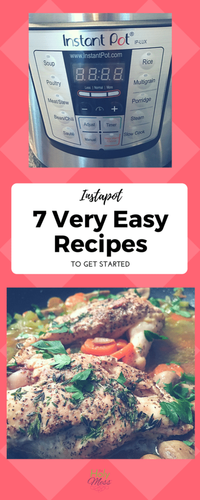 Instapot: 7 Very Easy Recipes to Get Started The Holy Mess
