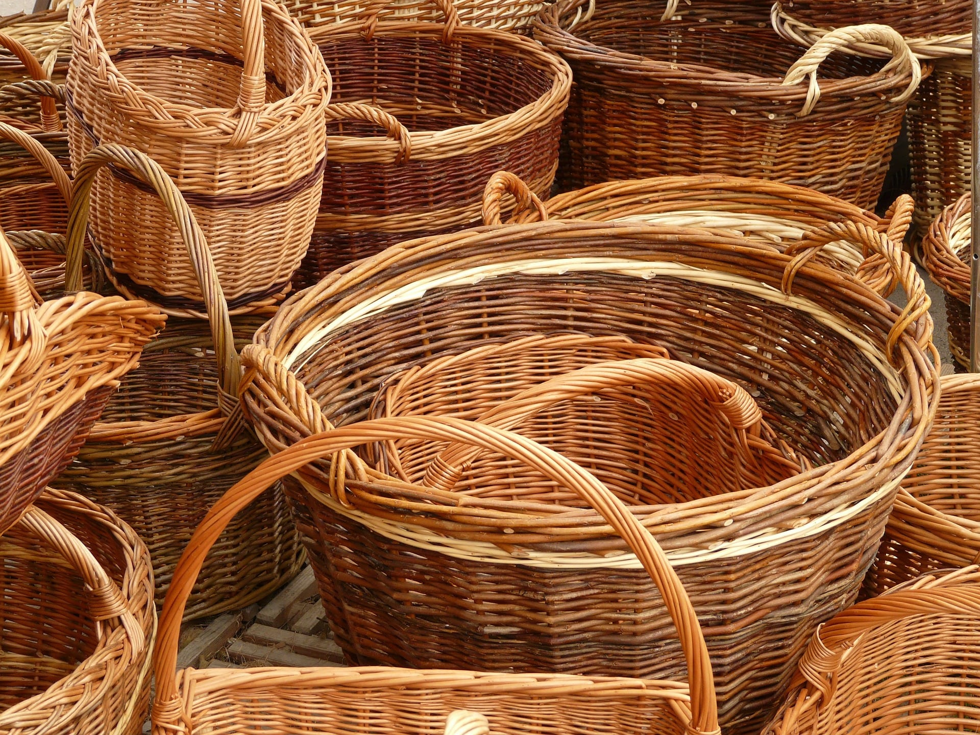 Wicker Basket for Bible Journaling Supplies|The Holy Mess
