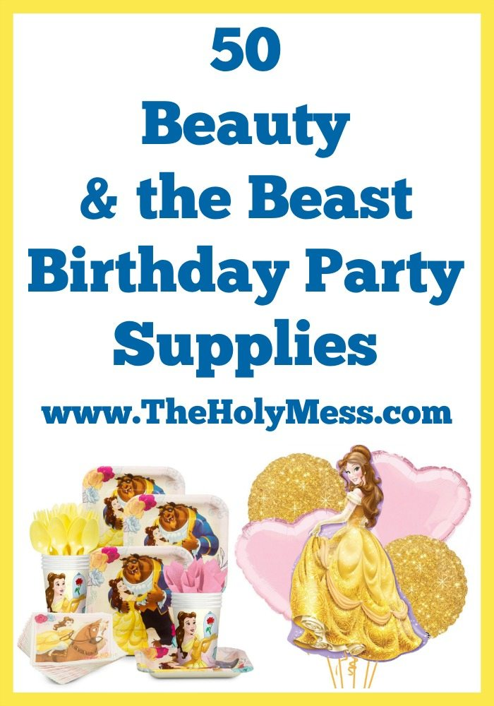 50 Beauty and the Beast Party Supplies|The Holy Mess