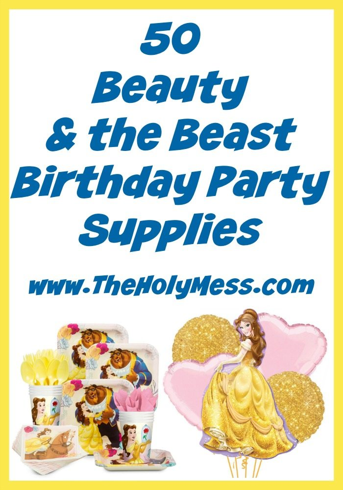 50 Beauty and the Beast Party Supplies