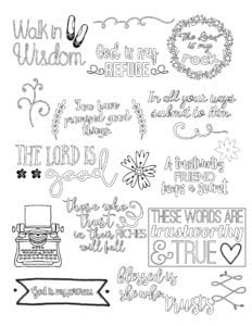 Fonts and Doodles