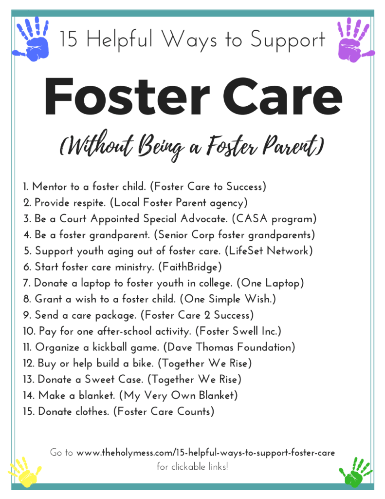 15 Helpful Ways to Support Foster Care Without Being Foster Parents