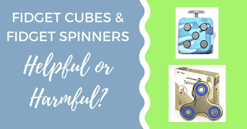 Fidget Cubes and Fidget Spinners for Autism and ADHD: Helpful or Harmful?