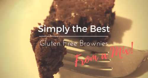 Simply the Best Gluten Free Brownies From a Mix