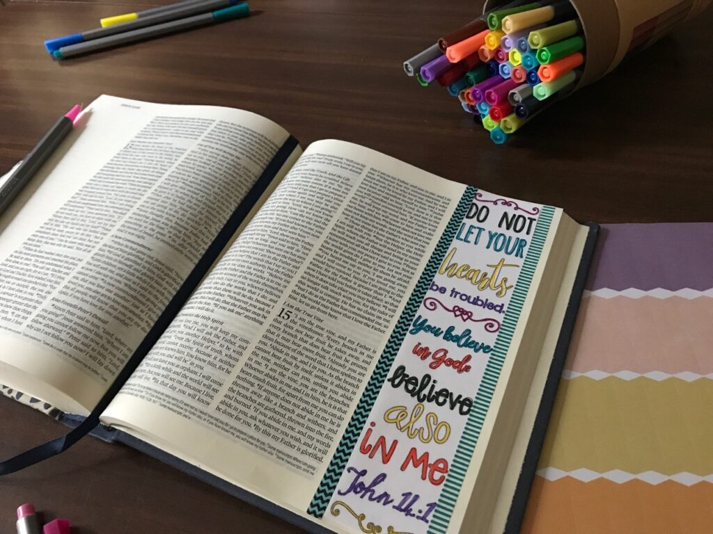 Bible Journaling Trust in the Lord Kit