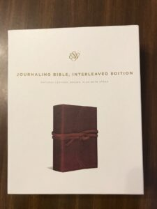 ESV Journaling Bible Interleaved