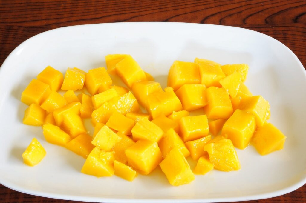 Chopped mango