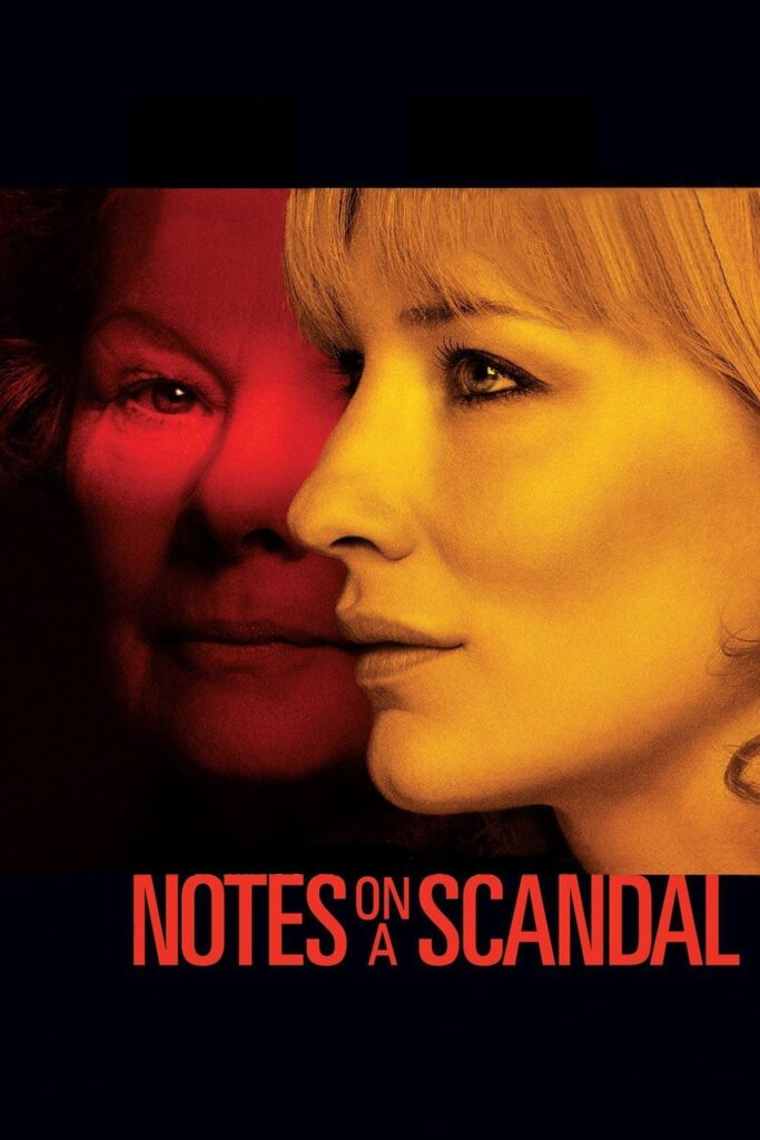 """Poster for the movie """"Notes on a Scandal"""""""