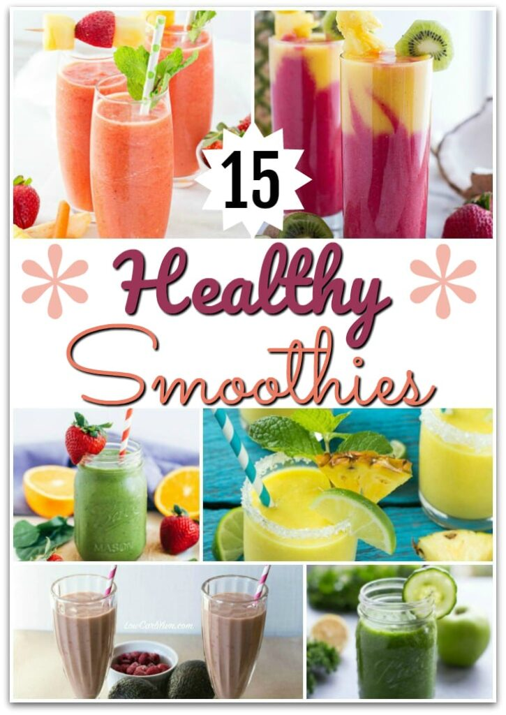 15 Healthy Smoothies|The Holy Mess
