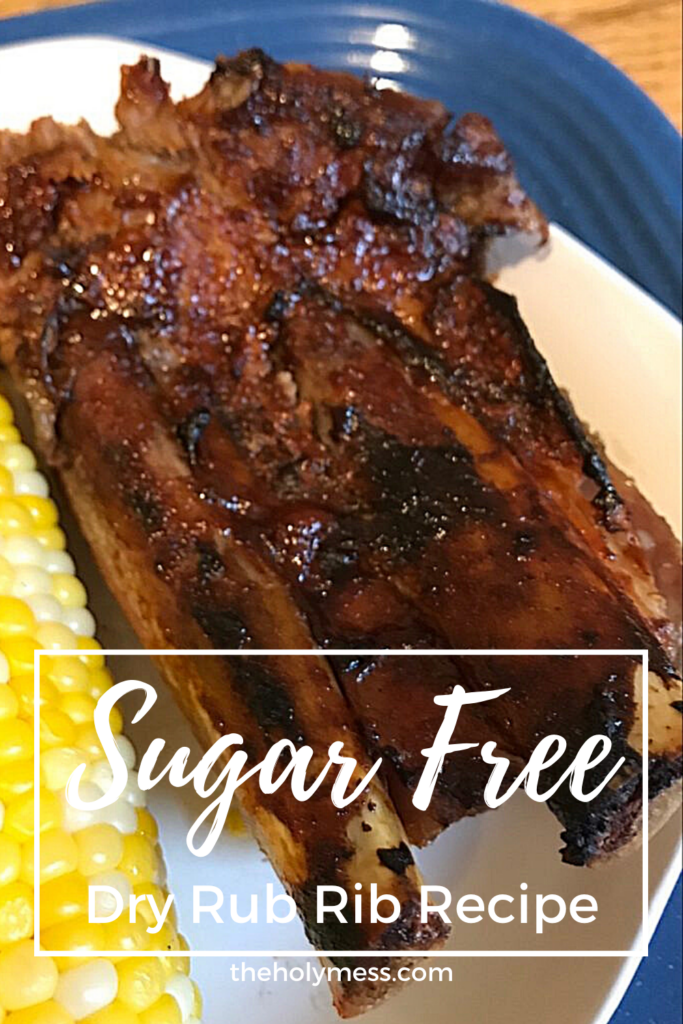 Sugar free dry rub rib recipe