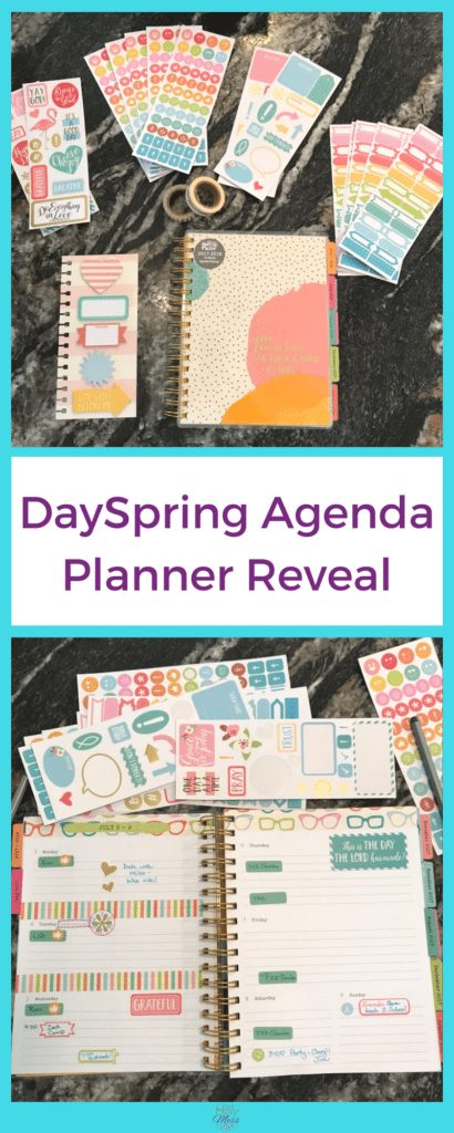 DaySpring Agenda Planner Reveal|The Holy Mess