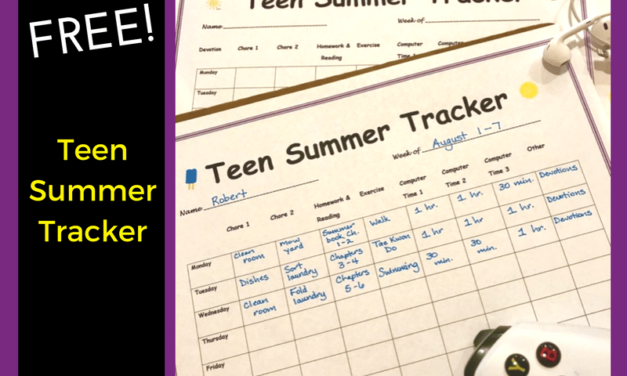 Teen Summer Tracker