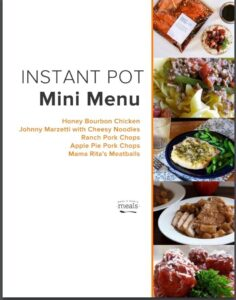 Instant Pot Freezer Cooking