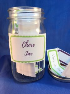 Chores Jar for Kids Printable Kit